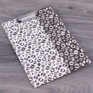 """Планшет картонный А4 """"Геометрия"""", цвет черно-белый, 1 шт"""