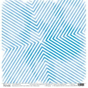"""Бумага для скрапбукинга """"Навигация"""", коллекция """"Млечный путь"""", 30,5*30,5 см"""