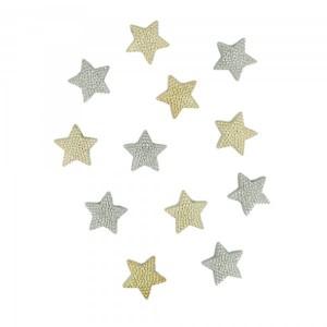 Набор декоративных мини-пуговиц «Dress It Up», Звездный блеск, микс