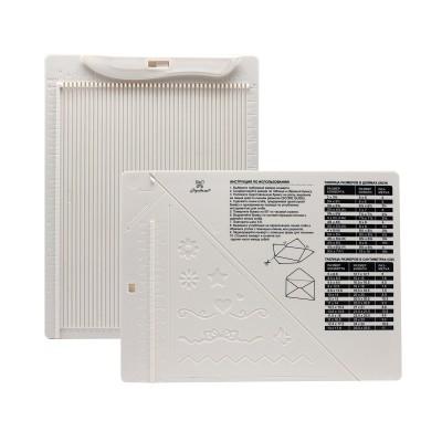 Доска для создания конвертов и открыток, 21,5 * 16,2 * 0,7 см, ТМ Рукоделие