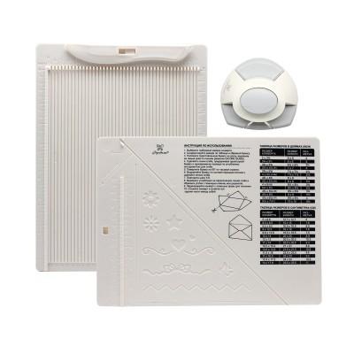 Доска для создания конвертов и открыток в комплекте с дыроколом угла, ТМ Рукоделие