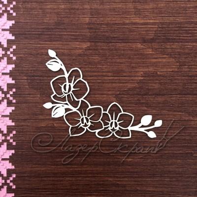 Чипборд картонный Весенние цветы, 99х51 см