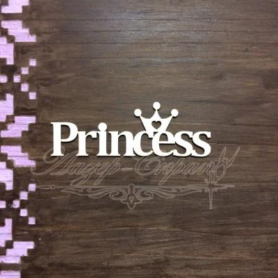 Чипборд картонный Princess, 69*24 мм