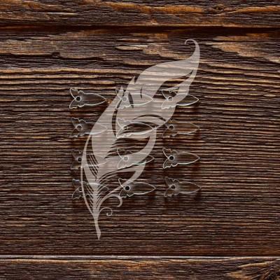 Анкеры акриловые Бабочки, 1,7 × 0,9 см, 12 шт