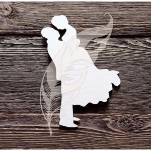 Заготовка для тиснения «Жених и невеста», 8,5 х 15 см