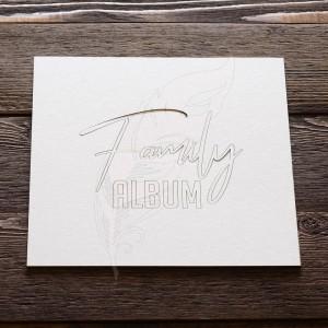 Заготовка для тиснения «Family Album», 22 х 22 см
