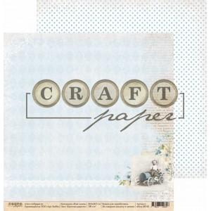"""Бумага для скрапбукинга - """"Простые радости"""", 30,5*30,5 см, коллекция """"Наш сынок"""""""