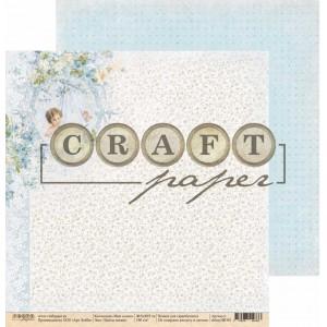 """Бумага для скрапбукинга - """"Цветы жизни"""", 30,5*30,5 см, коллекция """"Наш сынок"""""""