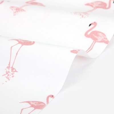 Хлопок Dailylike «Calm flamingo», 30*110 см
