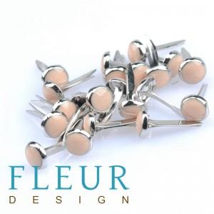 """Набор брадсов """"Fleur Design"""", цвет бежевый, 10 шт"""