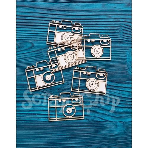 """Чипборд картонный """"Фото на память"""" от Scrap-Chip, 4х3 см"""