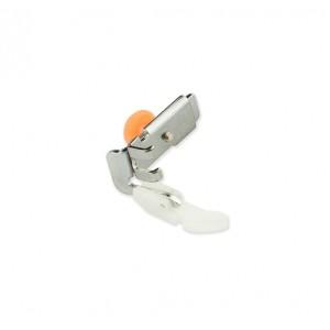 Лапка тефлоновая для вшивания молний, для кожи и замши, 5 мм
