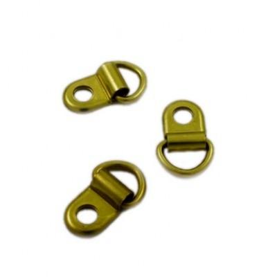 Крючок (подвес) металлический, 20 мм, цвет золото