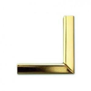 "Уголки металлические ""Desk Diary"", цвет золото, 35 х 35 мм, шир. 5 мм, 4 шт"